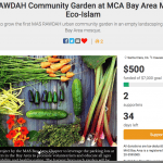Donate To The MAS Rawdah Community Garden At MCA Bay Area